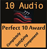 10 Audio Perfect 10 Award
