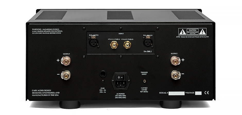SA-200.2 ES Amplifier