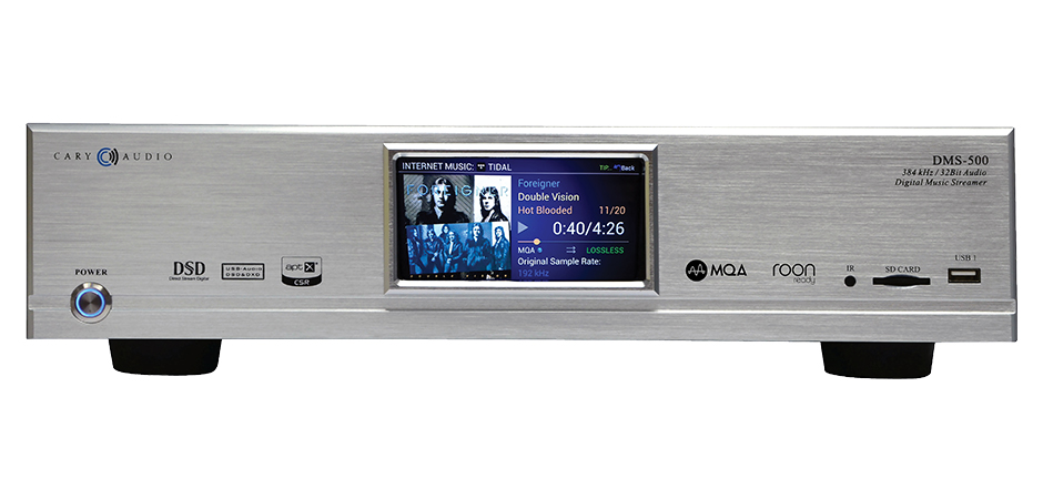 DMS-500 Network Audio Player