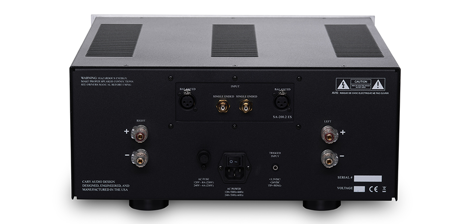 SA-200.2 ES Power Amplifier