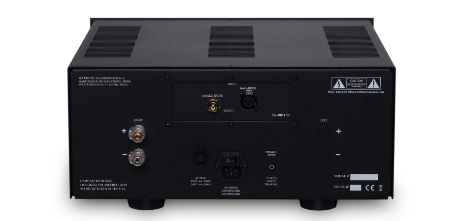 SA-500.1 ES Power Amplifier